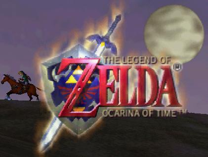 Zelda 64 Logo
